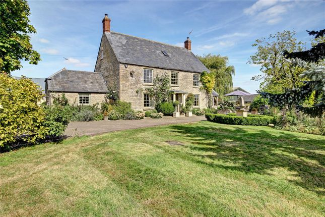 Thumbnail Detached house for sale in Ashton Road, Minety, Wiltshire