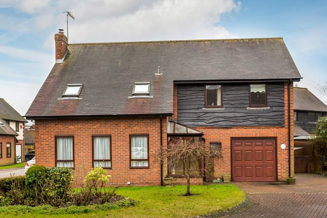 Thumbnail Detached house for sale in St. Marys Close, Oxted