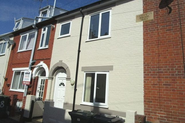 Thumbnail Terraced house to rent in Lancaster Square, Great Yarmouth