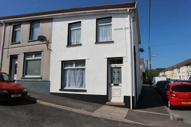 Thumbnail End terrace house for sale in Harrison Street, Penydarren, Merthyr Tydfil