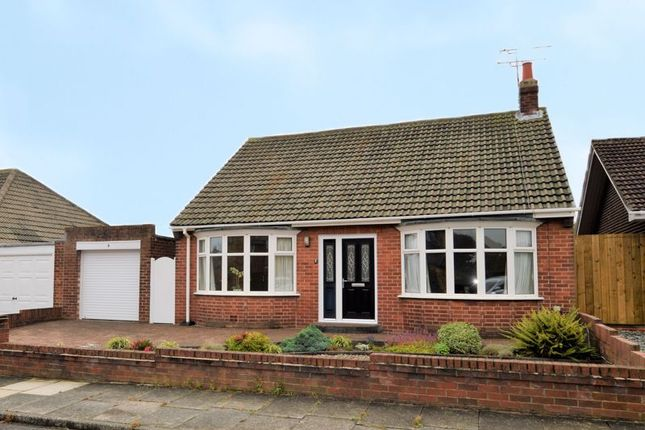 Thumbnail Bungalow for sale in Saxon Drive, Tynemouth, North Shields