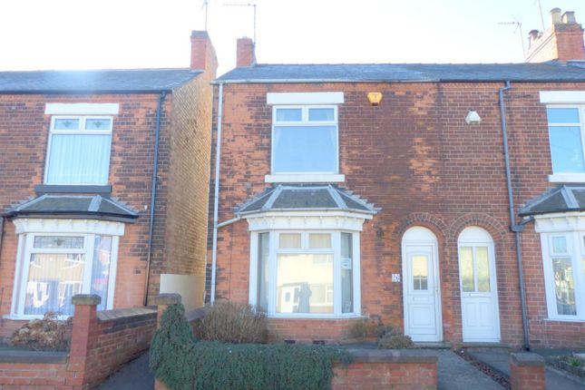 Thumbnail Terraced house to rent in Debdale Lane, Mansfield, Nottinghamshire