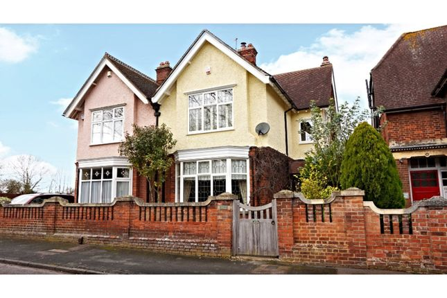 Thumbnail Semi-detached house for sale in Crockfords Road, Newmarket