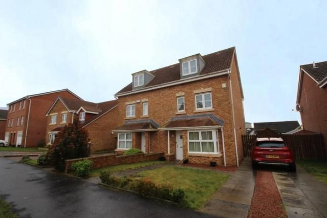 Thumbnail Semi-detached house for sale in Linkwood Road, Airdrie, North Lanarkshire