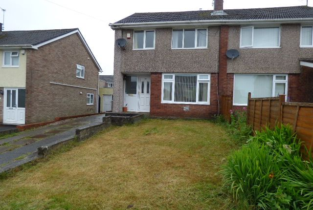 Thumbnail Semi-detached house for sale in Westminster Way, Bridgend