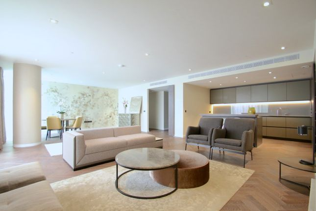 Thumbnail Flat to rent in Circus Road, Bessborough House, Battersea, London
