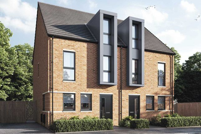 """Thumbnail Semi-detached house for sale in """"The Mcadam"""" at Westminster Street, Bensham, Gateshead"""
