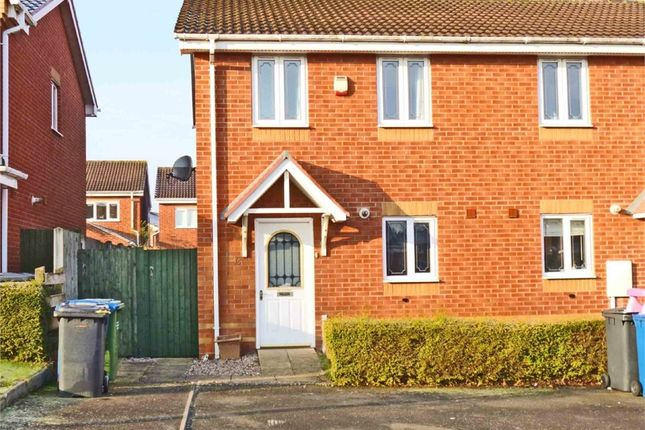 Thumbnail End terrace house to rent in Thornton Way, Two Gates, Tamworth, Staffordshire