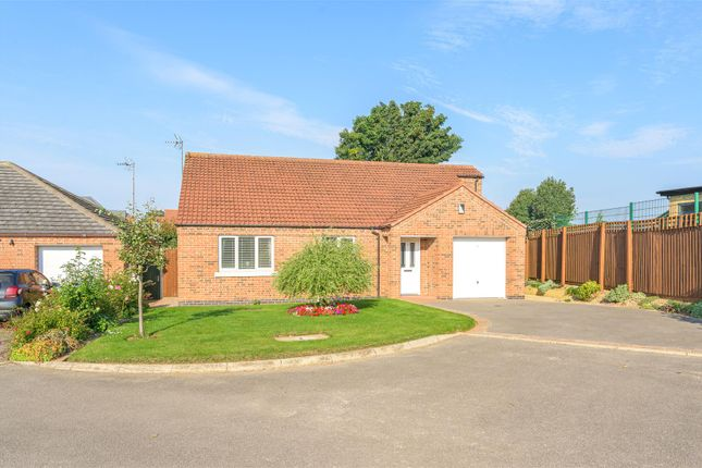 Thumbnail Detached bungalow for sale in Brisson Close, Grantham