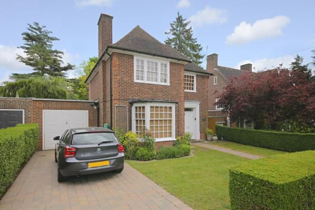 Thumbnail Detached house for sale in Gurney Drive, Hampstead Garden Suburb, London
