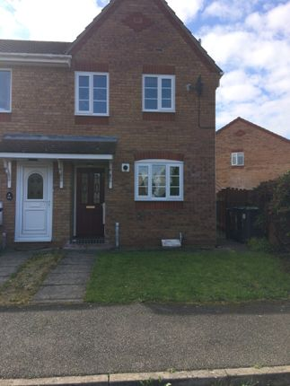 Thumbnail Semi-detached house to rent in Dove Close, Sleaford