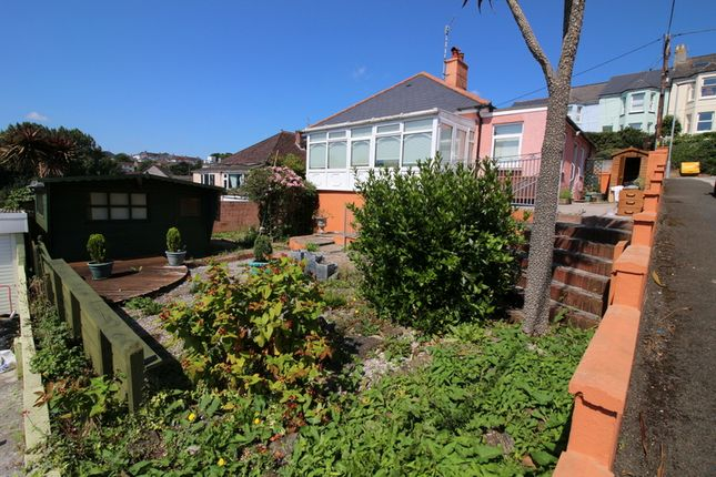 Thumbnail Detached bungalow for sale in Valley Road, Saltash