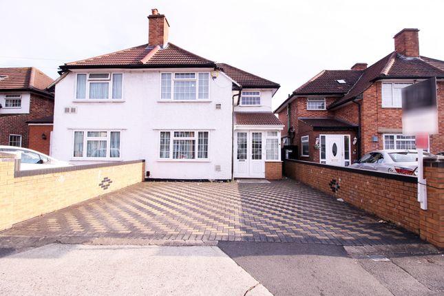 Thumbnail Semi-detached house for sale in Summerhouse Avenue, Hounslow