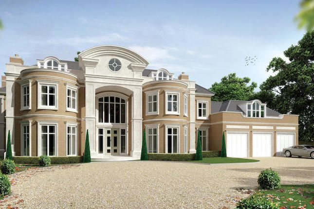 Thumbnail Detached house for sale in South Road, St. Georges Hill, Weybridge, Surrey
