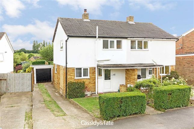 2 bed semi-detached house for sale in Barnfield Road, St Albans, Hertfordshire