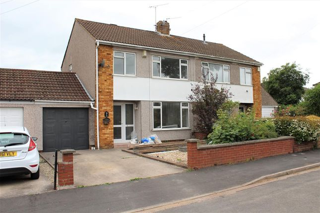 Thumbnail Semi-detached house to rent in Grangewood Close, Downend, Bristol