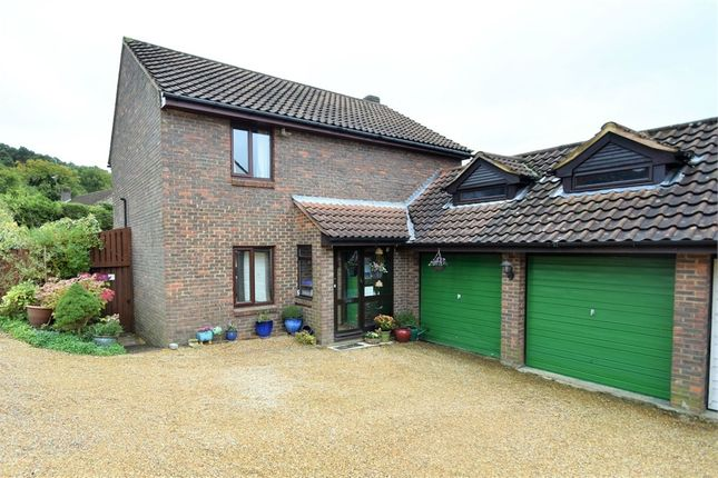 Thumbnail Detached house for sale in Penshurst Rise, Frimley, Camberley, Surrey