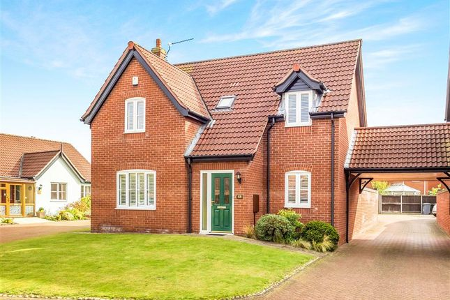 Thumbnail Detached house for sale in Mileham Drive, Aylsham, Norwich