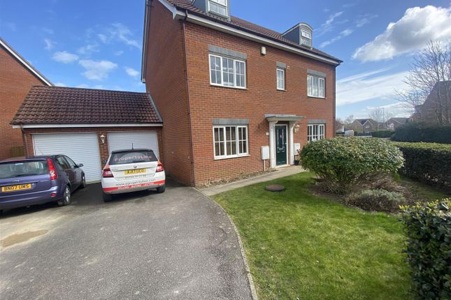 Thumbnail Detached house for sale in Edison Drive, Yaxley, Peterborough