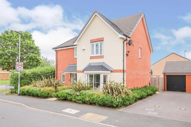 Thumbnail Detached house for sale in Wards Bridge Drive, Wednesfield, Wolverhampton