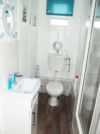 Shower/WC of 159A Fourth Avenue, South Shore Holiday Village, Bridlington YO15