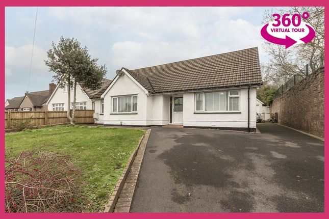 Thumbnail Detached bungalow for sale in High Cross Drive, Rogerstone, Newport