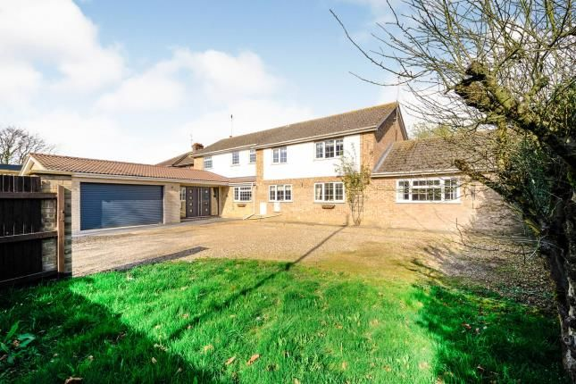 Thumbnail Detached house for sale in Wisbech Road, Westry, March, Cambridgeshire