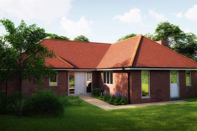 Thumbnail Detached bungalow for sale in Plot 2, East End, Walkington, Beverley