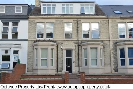 Thumbnail Flat to rent in Osborne Road, Newcastle Upon Tyne