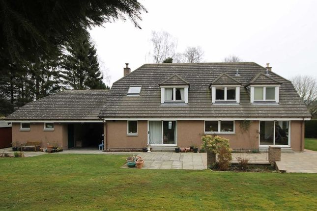 Thumbnail Detached house for sale in Woodside Road, Torphins, Banchory, Aberdeenshire