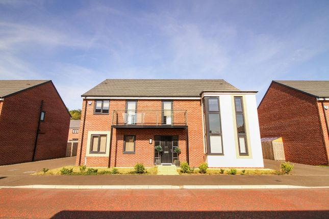 Thumbnail Detached house for sale in Aspenwood Grove, Newcastle Upon Tyne