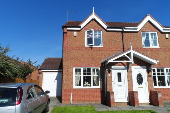 Thumbnail Semi-detached house to rent in Knaresborough Close, Bedlington