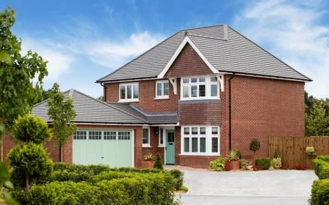 Thumbnail Detached house for sale in Potters Lea, Exeter Road, Newton Abbot, Devon