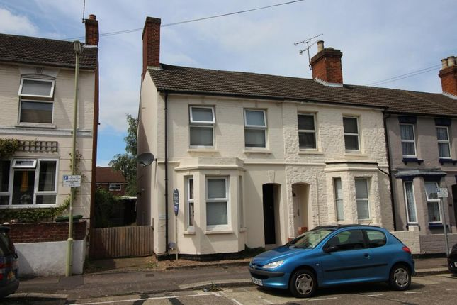 Thumbnail End terrace house for sale in Cavendish Road, Aldershot