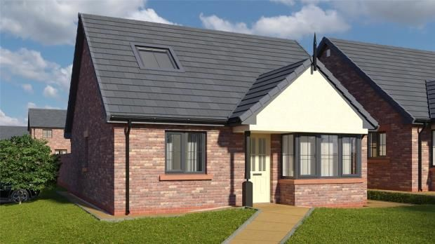 Thumbnail Detached bungalow for sale in Plot 17 The Tay, St. Cuthberts, Off King Street, Wigton