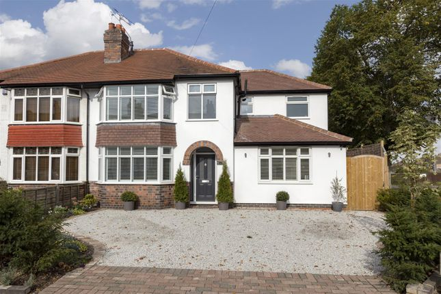 Thumbnail Semi-detached house for sale in Farm Road, Leamington Spa