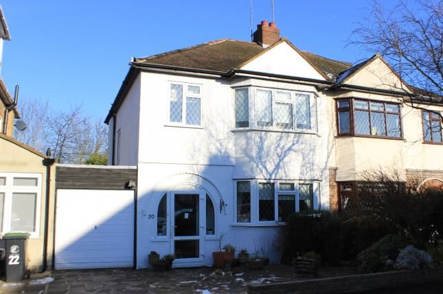 Thumbnail Semi-detached house for sale in Hycliffe Gardens, Chigwell