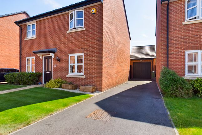 4 bed detached house for sale in Meteor Way, Whetstone, Leicester, Leicestershire LE8