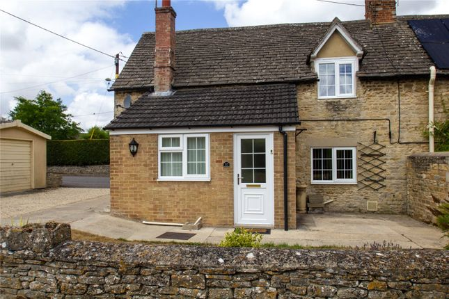Thumbnail Semi-detached house to rent in Witney Road, Ducklington, Oxfordshire
