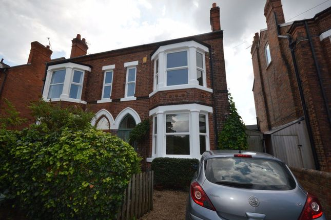 Thumbnail Semi-detached house to rent in Holme Road, West Bridgford, Nottingham