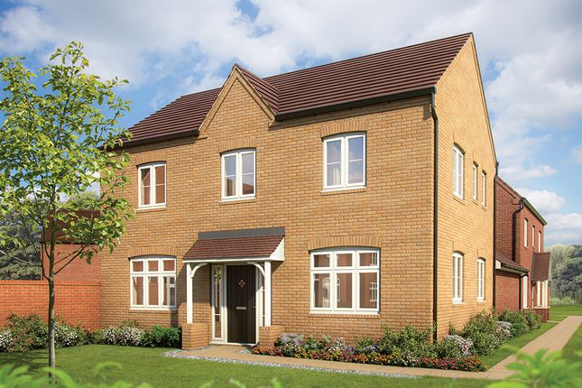 "Thumbnail Semi-detached house for sale in ""The Chestnut v2"" at Sowthistle Drive, Hardwicke, Gloucester"