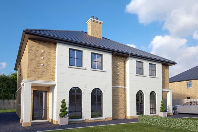 Thumbnail Semi-detached house for sale in Lisnagrilly Hall, Portadown, Craigavon