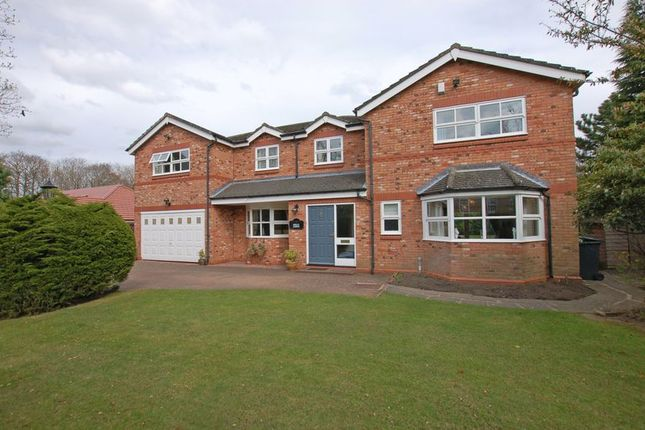 Thumbnail Detached house for sale in Woodlands, Ponteland, Newcastle Upon Tyne