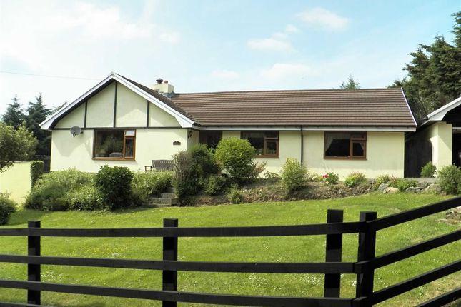 Thumbnail Detached bungalow for sale in Rhydlewis, Llandysul