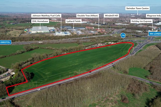 Land for sale in Land At Junction 16, Motorway, Swindon