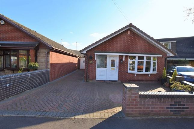 Thumbnail Detached bungalow for sale in Atlam Close, Bucknall, Stoke-On-Trent