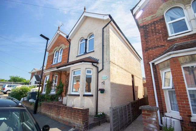 Thumbnail Semi-detached house for sale in St Davids Road, East Cowes