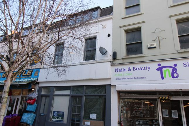 2 bed flat to rent in Guildhall Street, Folkestone CT20