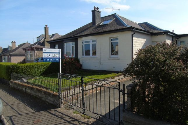 Thumbnail Bungalow to rent in Britwell Crescent, Craigentinny, Edinburgh