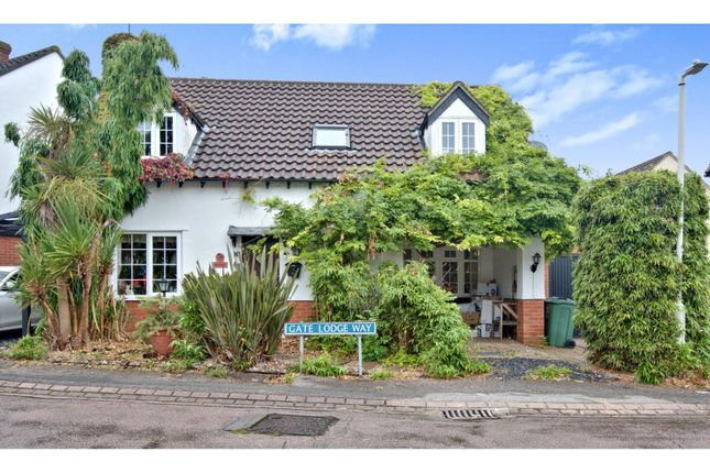 Thumbnail Detached house for sale in Gate Lodge Way, Basildon